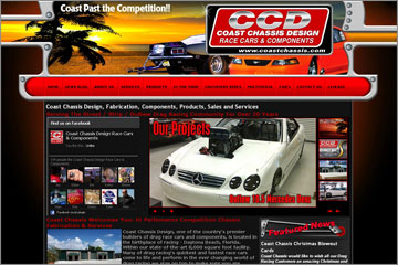 Coast Chassis Of Daytona Beach Website For Drag Racing Components And Chassis Fabrication